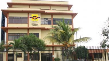 Instalaciones de Medicina Legal donde fue llevado Andrés Tafur Yepes, asesinado en Las Margaritas.