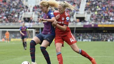 El Barcelona femenino se clasifica a final de Champions tras ganarle al Bayern