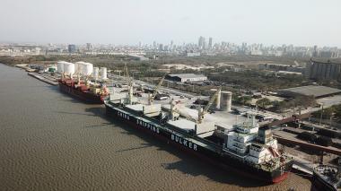 Panorámica del terminal Compas en Barranquilla.