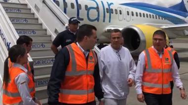 En video   Estados Unidos deporta a Colombia al general (r) Mauricio Santoyo