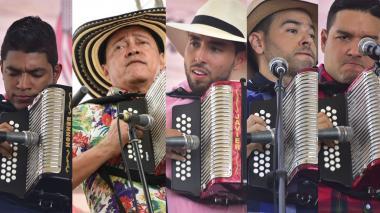 Estos son los finalistas para Rey vallenato 2019