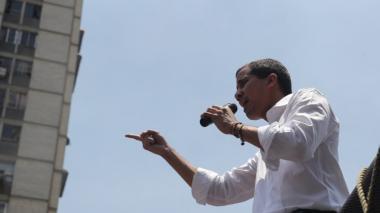 """""""Vamos a seguir liberando a los presos políticos"""" en Venezuela: Guaidó"""