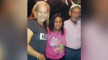 Carmen Ester Caraballo Prada el día de su cumpleaños antes de ser asesinada.