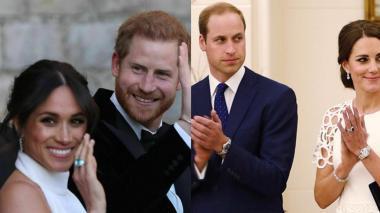 Crisis en familia real: príncipe Harry y Meghan Markle dan 'unfollow' a Kate y al príncipe William