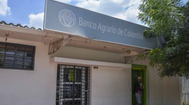 Banco asaltado ubicado en la carrera 4B con calle 7-51 de Manatí.