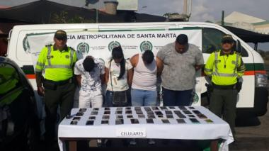 En video | Cae banda señalada de robar 45 celulares en Festival Vallenato
