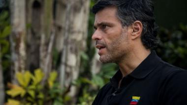 En video | Leopoldo López no descarta una intervención militar en Venezuela