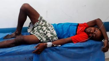 Pensionado de la Policía hiere a bala a hombre que intentó atracarlo en Rebolo
