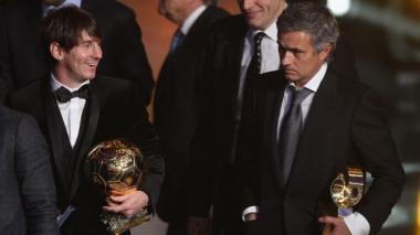 """""""Messi es el dios del fútbol"""": Mourinho"""