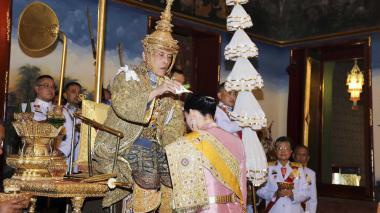 La fastuosa coronación del rey Vajiralongkorn de Tailandia