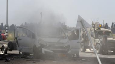 Cinco palestinos muertos en Gaza por ataque israelí este domingo