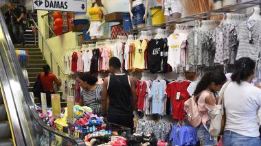 Almacén de vestuario en el centro de Barranquilla.
