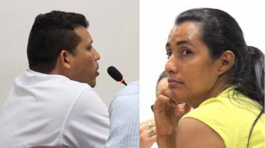 Alexander Amador y Lucenith Calderón