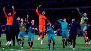 Tottenham, de Dávinson Sánchez, jugará la final de la Champions contra Liverpool