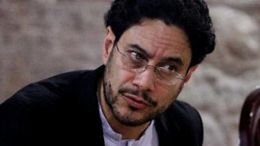 El senador del Polo Democrático Iván Cepeda.