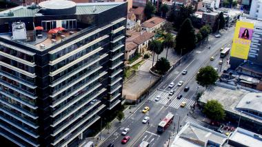 Edificio de la JEP en Bogotá.