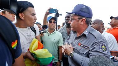 Marcha LGTBI en La Habana acaba en choques y detenciones