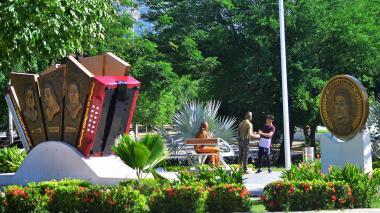 Parque de los Juglares en Valledupar.