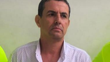Iván David Nigrinis Irreño, capturado por hurto.