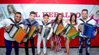 En video | Reyes vallenatos hicieron sonar sus notas en EL HERALDO