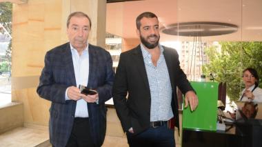 Germán Vargas Lleras y Fuad Char están reunidos en Bogotá