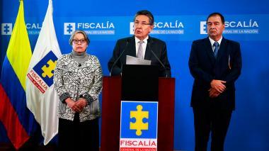 En video   Fiscal se va tras decisión de la JEP de no extraditar a Santrich