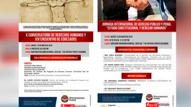 En Unilibre se presentará la Jornada Internacional de derecho Público y Penal