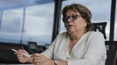 Gloria María Borrero renunció a la cartera judicial