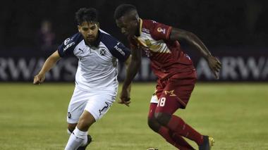 Águilas sorprende a Independiente y lo vence 3-2 en la Copa Sudamericana
