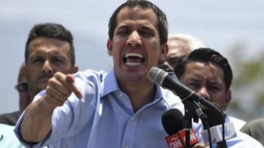 Es cínico insinuar nuevas elecciones: Guaidó a Maduro