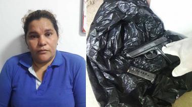 En Cereté sorprenden a mujer con pistola escondida en la lavadora