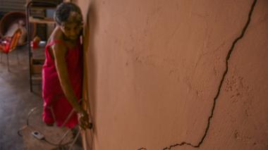 """""""Obra en Costa Hermosa está afectando nuestras casas"""": vecinos"""