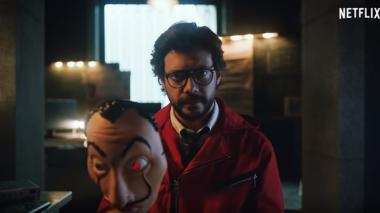 En Video   'El Profesor' aparece con misterioso mensaje para seguidores de 'La Casa de Papel'