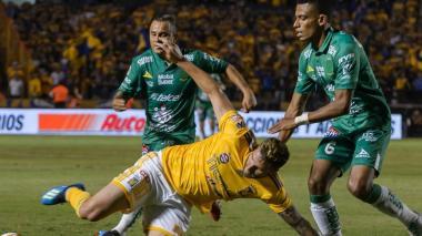 Tigres ganó 1-0 ante León en la final de la liga mexicana con presencia colombiana