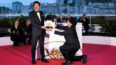 La tragicomedia surcoreana 'Parásito' gana Palma de Oro del Festival de Cannes