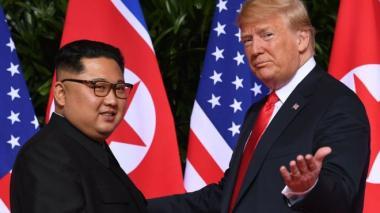 Trump afirma que aún confía en Kim Jong Un