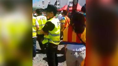 Policía detiene a 23 hinchas horas antes de la final de Copa del Rey