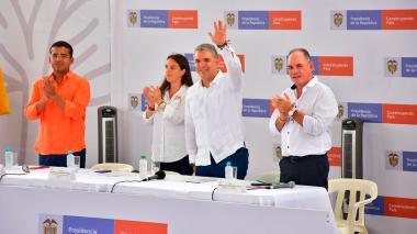 El pacto de Duque con Colombia a cuatro años