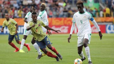 Colombia cae 2-0 ante Senegal, en la segunda fecha del Mundial sub 20