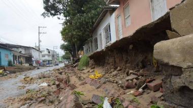 Obras para proteger casas en Chiquinquirá