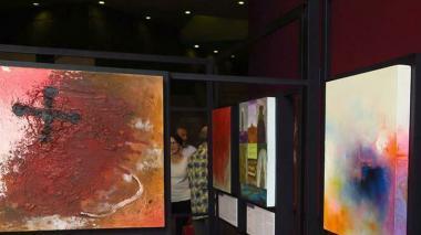 Exposición en la UNAM.