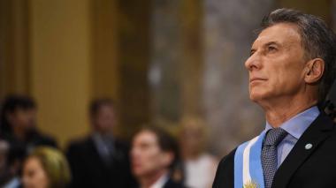 "Macri critica la ""corrupción"" kirchnerista  durante inauguración de obra en Buenos Aires"