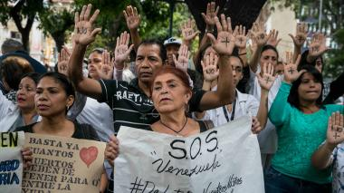 Protestan por muerte de cuarto niño por crisis hospitalaria venezolana