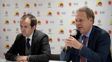 Ernesto Lucena y Ramón Jesurun anuncia el regreso de los controles antidopaje.