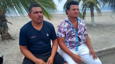 En video | Rescatan a dos pescadores cienagueros 36 horas después de su naufragio