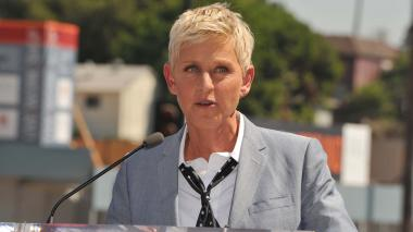 La presentadora y actriz Ellen DeGeneres.