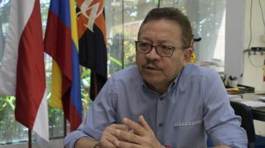 El rector de la Universidad del Atlántico, Carlos Prasca.