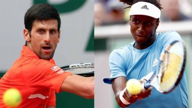 Djokovic y Zverev, con paso firme a tercera ronda de Roland Garros