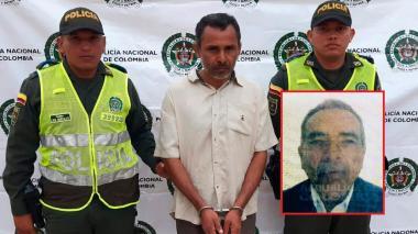 Óscar Rafael Paso Chamorro, presunto asesino y Raúl Rafael Paso Ospino, víctima fatal.