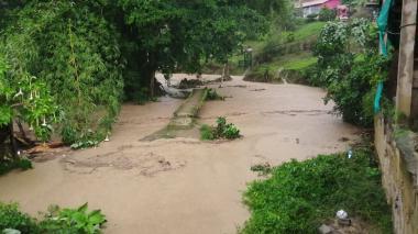 Palmor permanece en alerta amarilla tras emergencia por fuerte vendaval